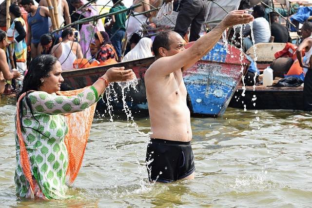 Le Gange est un fleuve du nord de l'Inde