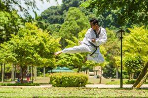 Le kung-fu un sport basé sur autodéfense